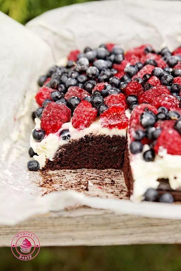 czekoladowe ciasto bez jajek 5