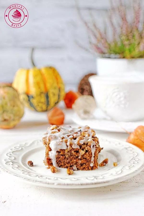 ciasto dyniowe z kruszonką