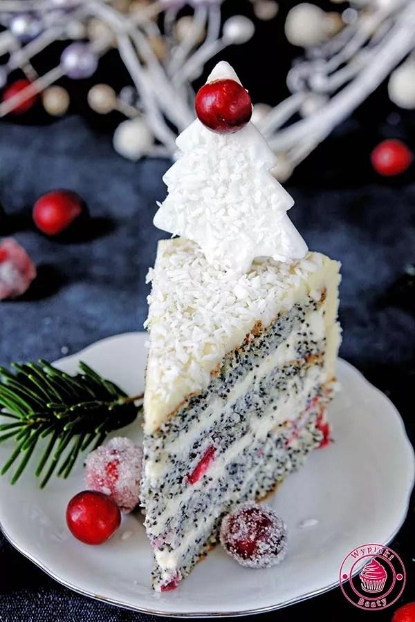 tort z makiem
