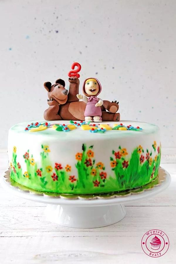 tort angielski na urodziny