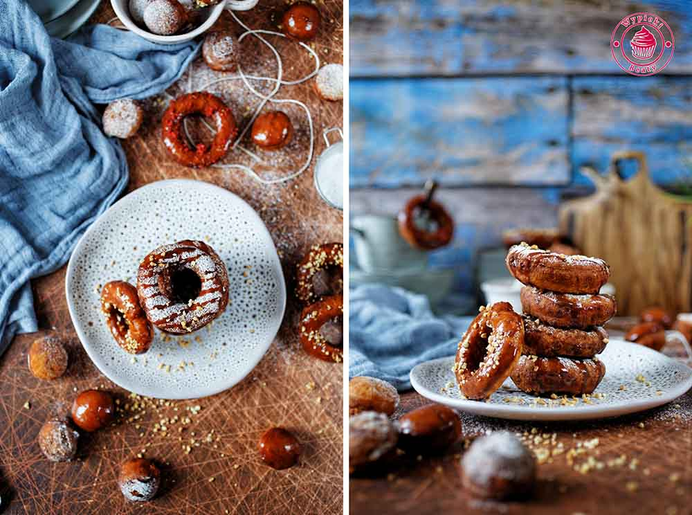 doughnuts with potatoes