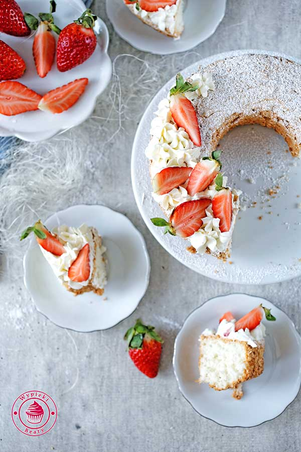 ciasto na białkach