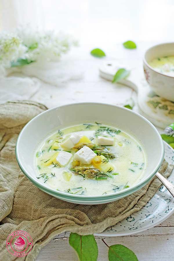 zupa szparagowa