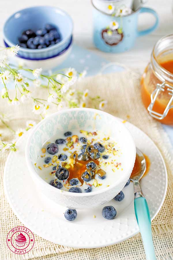 quinoa śniadaniowa