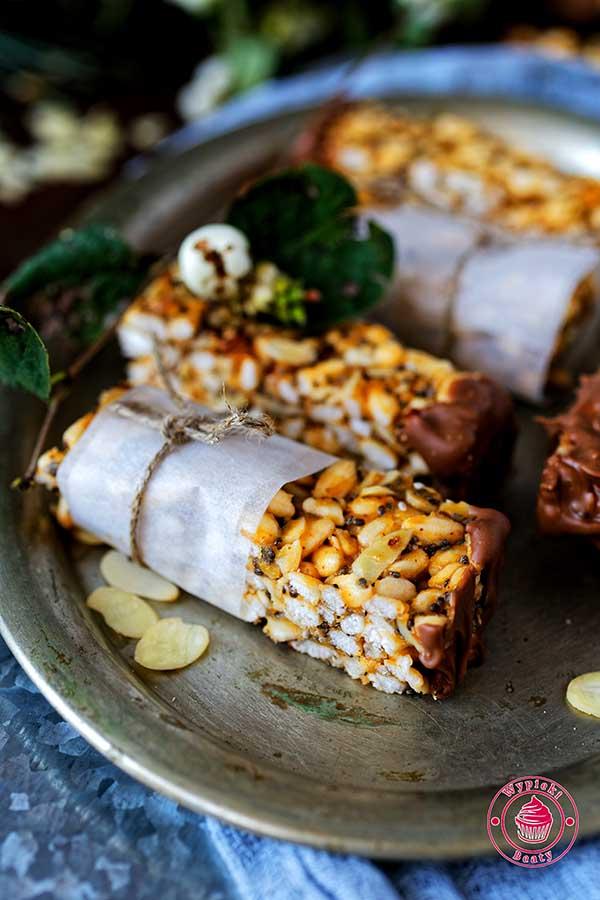 batony ryżowe