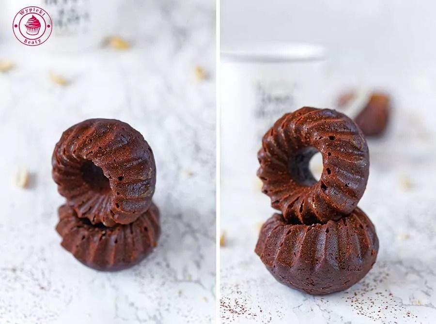 babeczki czekoladowe z masłem orzechowym