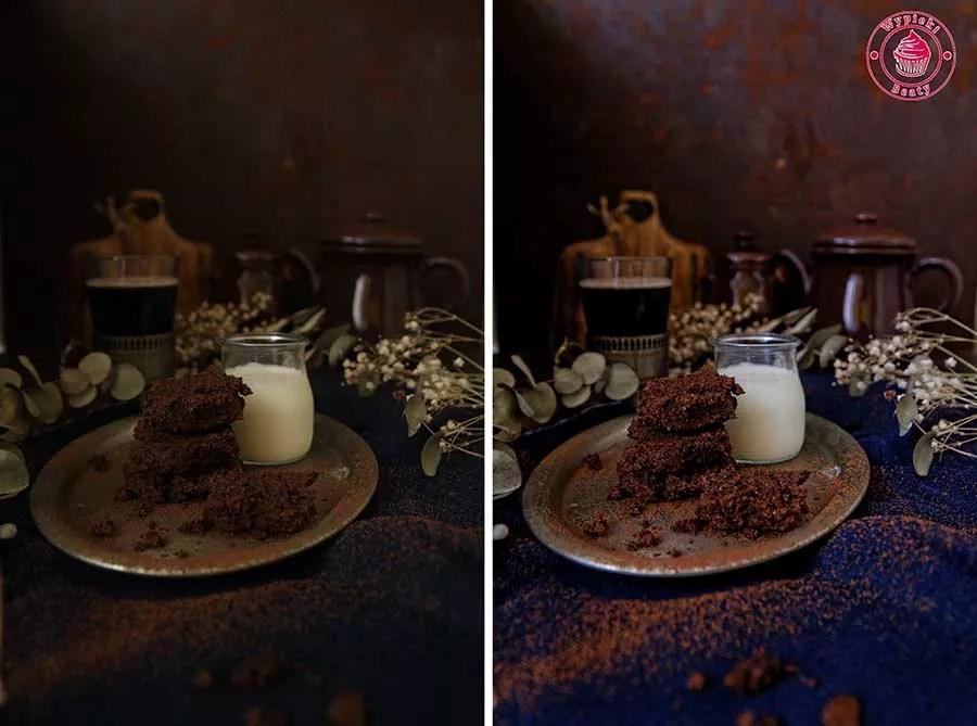 ciasteczka czekoladowe z awokado