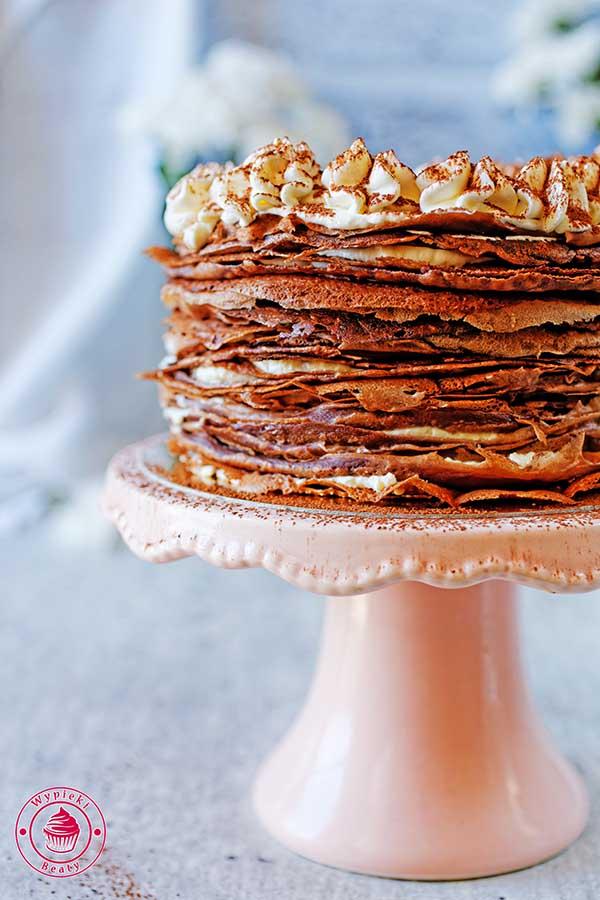 czekoladowe naleśniki z kremem