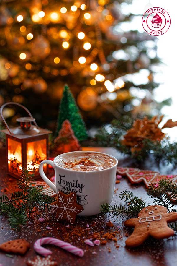 kawa latte piernikowa