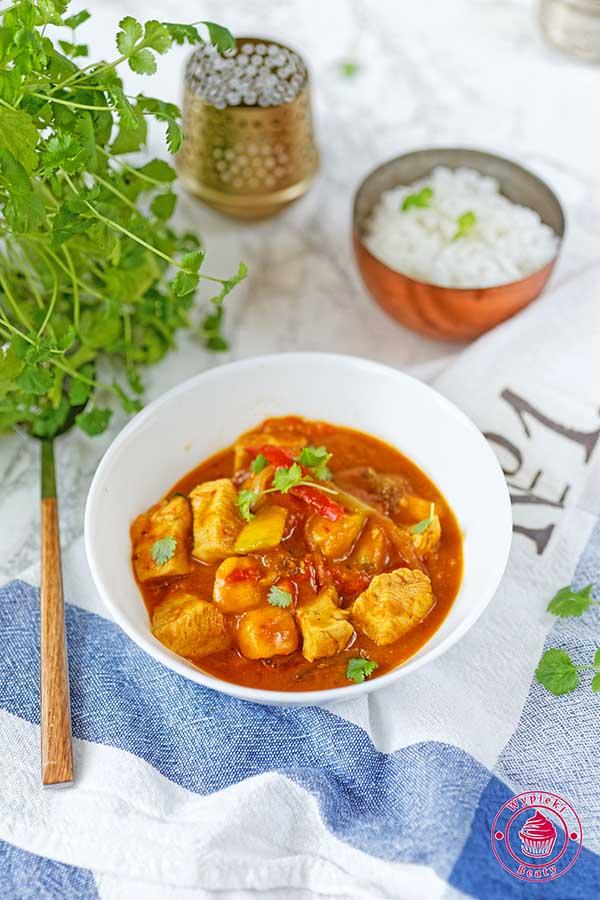 Curry Z Mango I Kurczakiem Najlepsze Przepisy Blog Kulinarny
