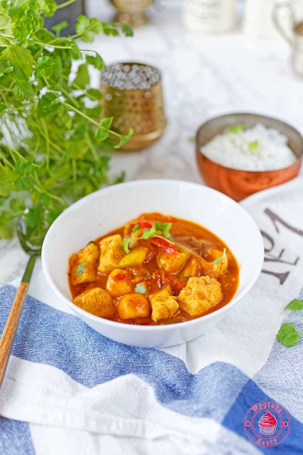curry z kurczakiem i mango
