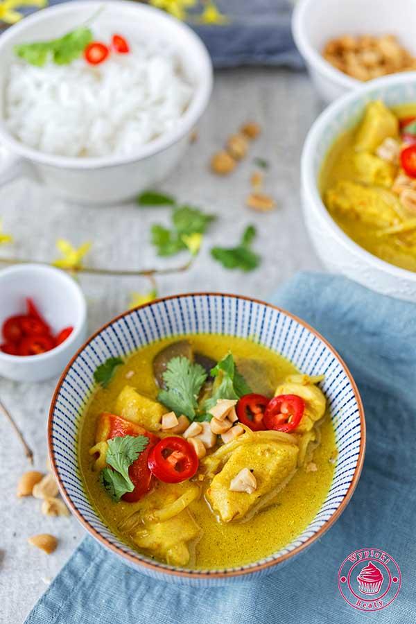 prosty kurczak curry