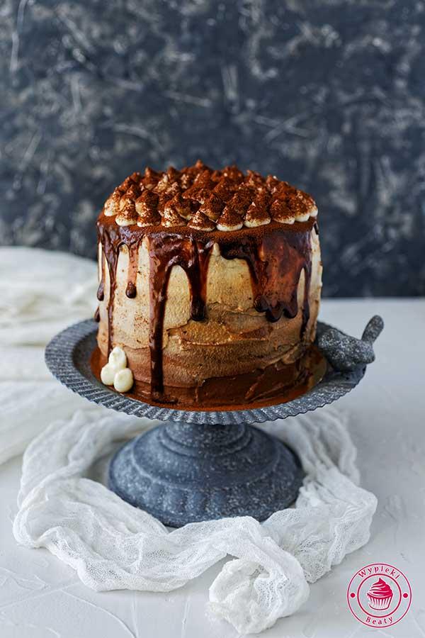 urodzinowy tort kawowy