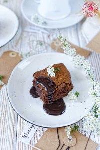 mocno kawowe ciasto czekoladowe