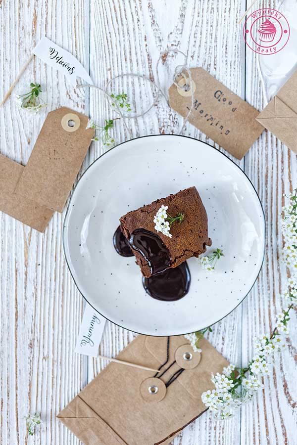 mocno kawowe brownie