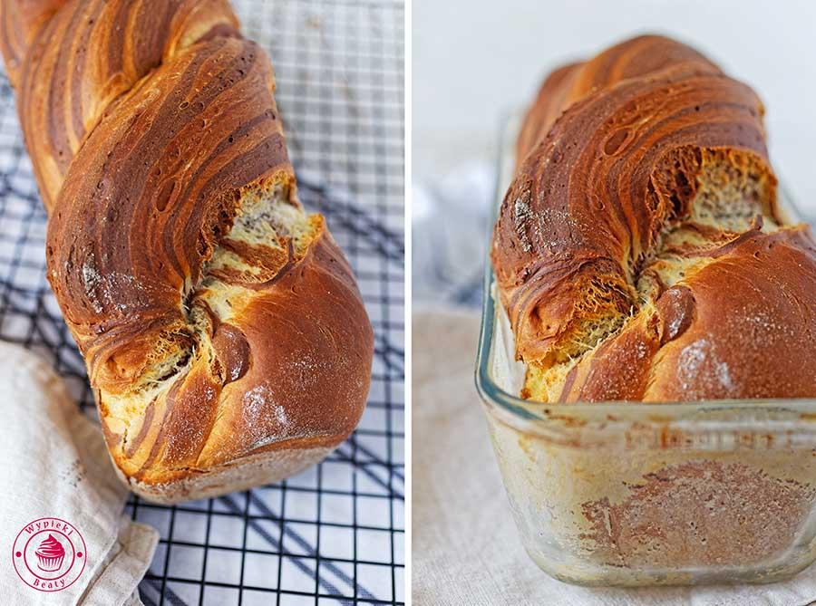 chlebek dwukolorowy