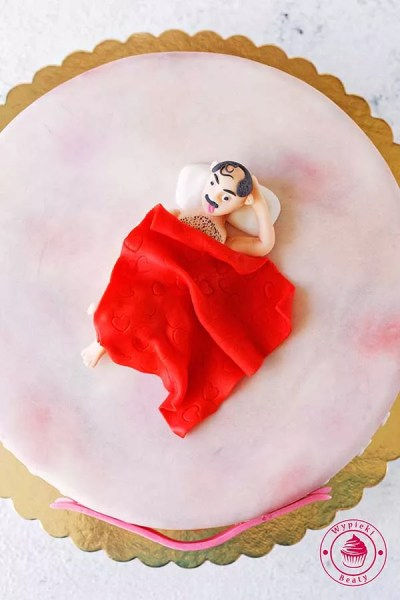 tort na wieczór panieński z mężczyzną