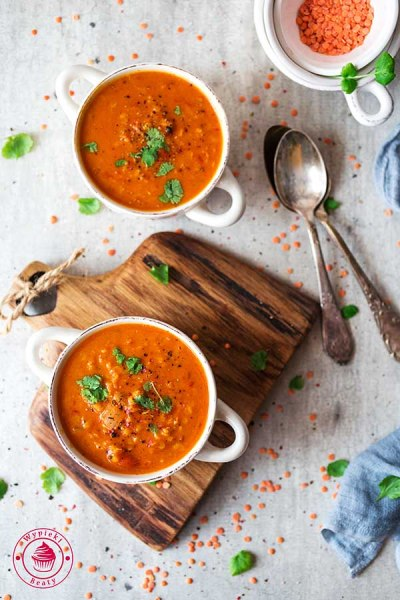 kokosowa zupa dhal