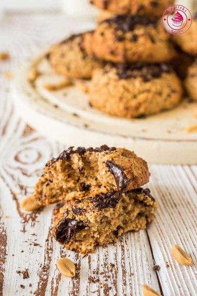 ciasteczka orzechowe bez mąki