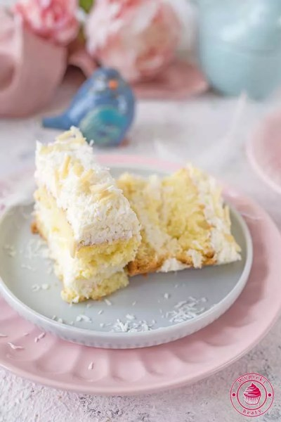 ciasto rafaello z migdałami