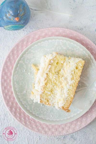 ciasto kokosowo-migdałowe
