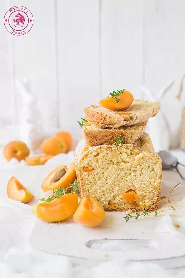waniliowe ciasto morelowe
