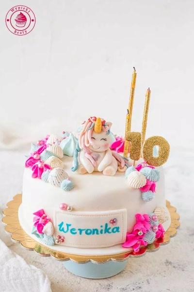 torcik jednorożec na urodziny