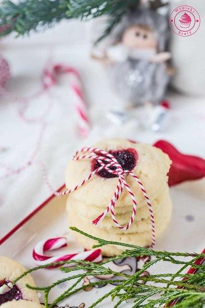maślane ciasteczka z konfiturą