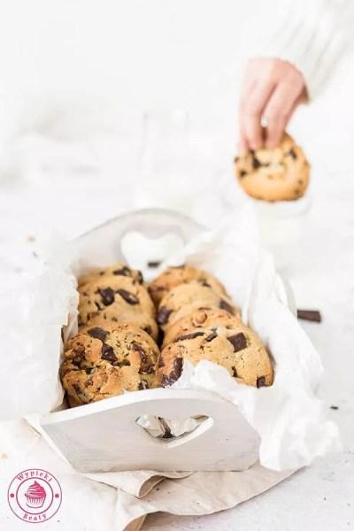 proste ciasteczka z orzechami