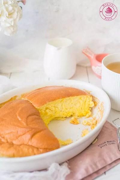 waniliowy omlet pieczony