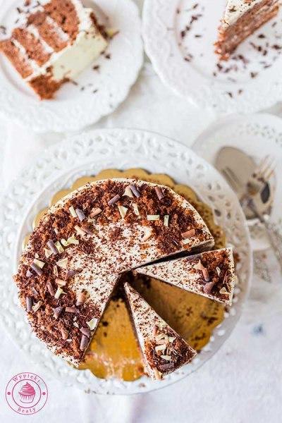 prosty torcik czekoladowy z kawą