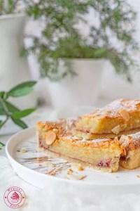 malinowa tarta bakewell