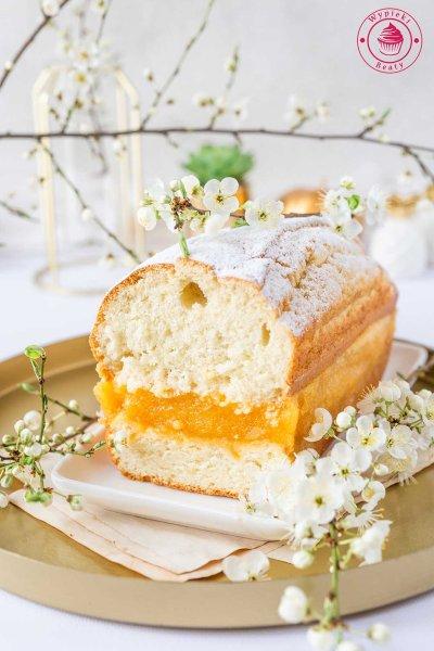 ciasto z galaretką i mango