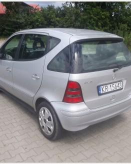 Samochód do wynajęcia Mercedes A-klasa Kraków