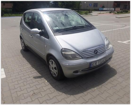 Wynajmę samochód Mercedes klasy A Kraków