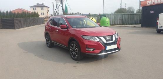 Wynajem samochodu Nissan X-Trail Kraków