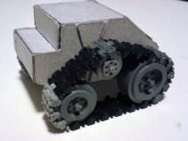 The tank's new tracks