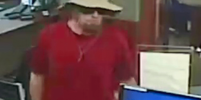 UPDATE:  New images of suspected Clinton bank robber