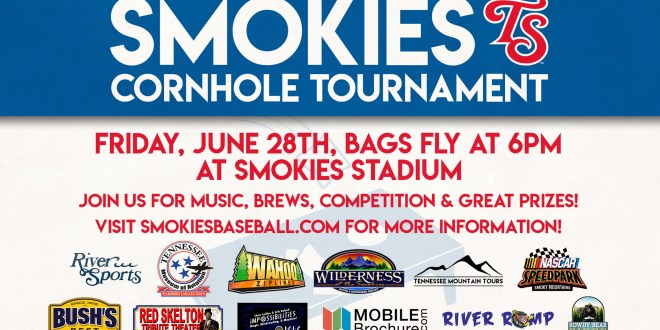 Smokies to host Cornhole tourney Friday