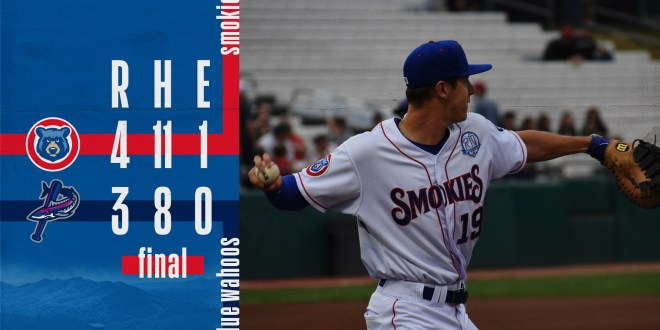 Smokies go to extras for second straight night, beat Blue Wahoos 4-3
