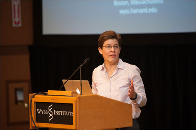 Fifth Annual Wyss Institute Retreat Showcases Technology