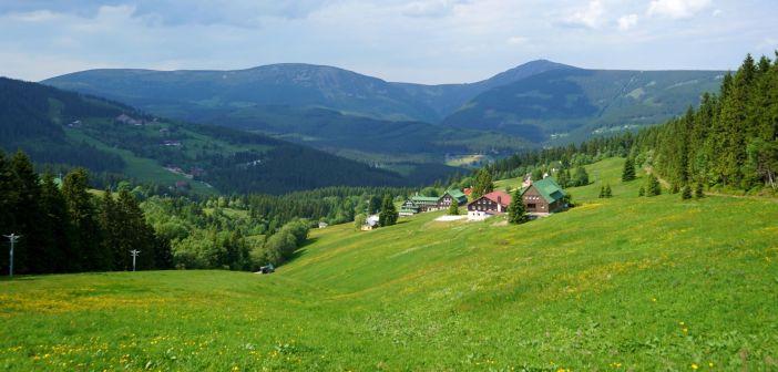 Karkonoskie Grzbiety południowe: Lisia Góra i Brązowy Szczyt