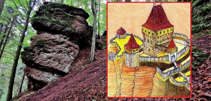 O zamku Rechenburk niedaleko czeskiego Trutnova i czeskim osadnictwie na granicznych ziemiach niczyich.