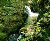 Wodospady na Rybnej w Górach Suchych