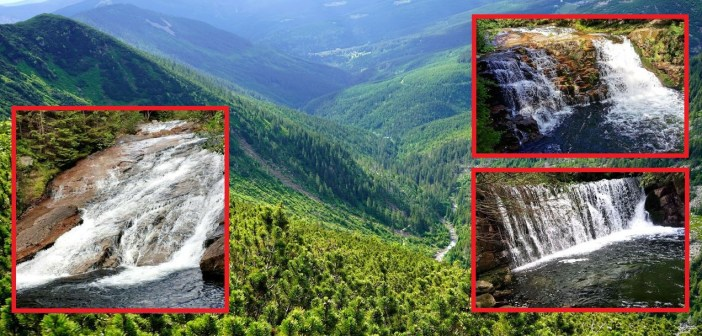 Wodospady w Dolinie Białej Łaby. Ile ich jest? Jak wyglądają? [CZESKIE KARKONOSZE]