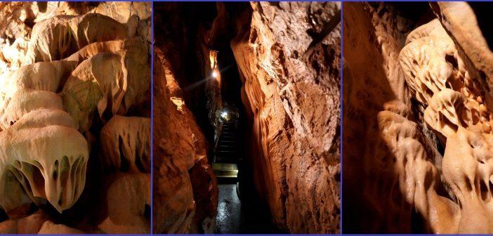 Szata naciekowa Jaskini Na Pomezí w czeskich Górach Złotych. Galeria, praktyczne informacje …