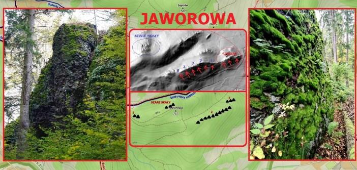 Skalne grzędy na Jaworowej w Rudawach Janowickich. Szare Skały i nie tylko …