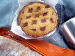 latticed cherry pocket pie
