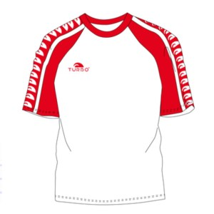 Multi turbo T'shirt - Red / white