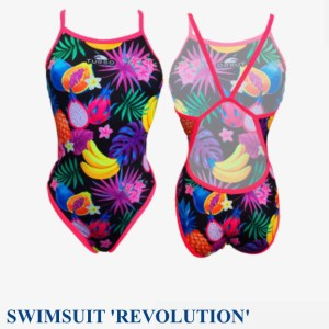 Turbo-Womens/Girls-swimming-costume-Revolution - Fruity Jungle ref-  83086930